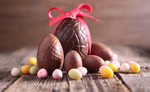 <写真卵型のチョコレート>