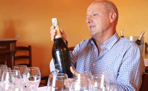 ヴィッラ・クレスピアの天才醸造家フランチェスコ・ヤコノさん。